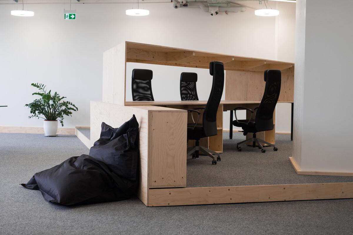 Openspace Büroraum Konux Office Design München Nobla Design Karlsruhe