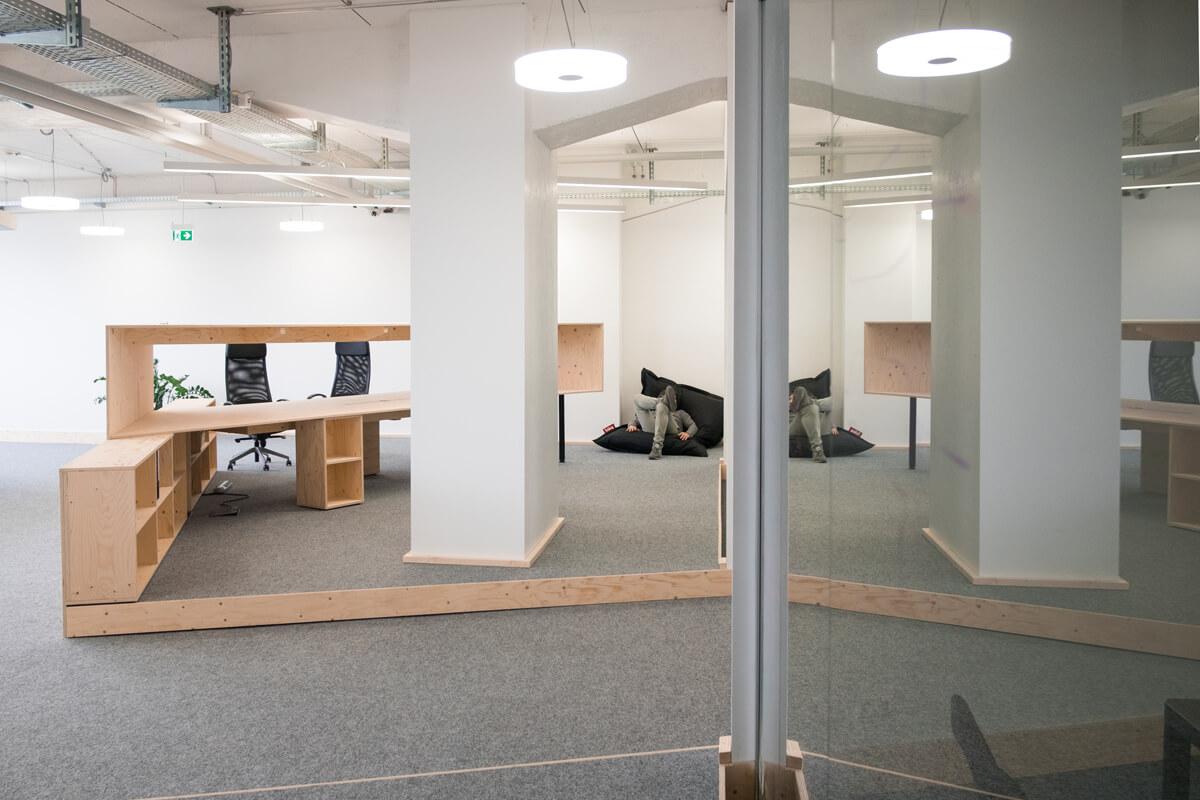 Offene Büroräume Konux Nobla Karlsruhe Innenarchitekt