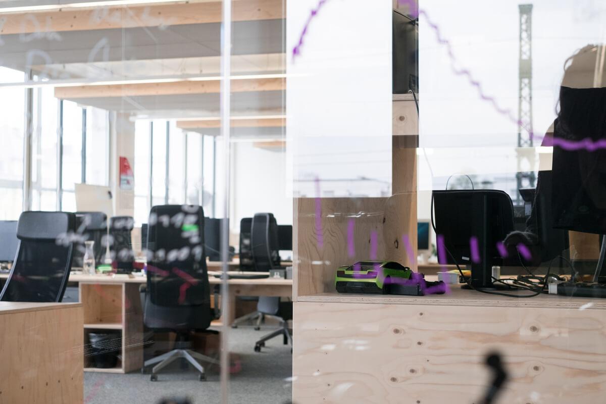 Open Space Büroräume Konux München Nobla Inneneinrichtung