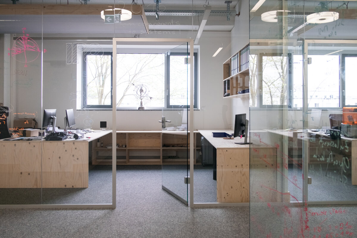 Closed Space Office Design Konux München Nobla Karlsruhe