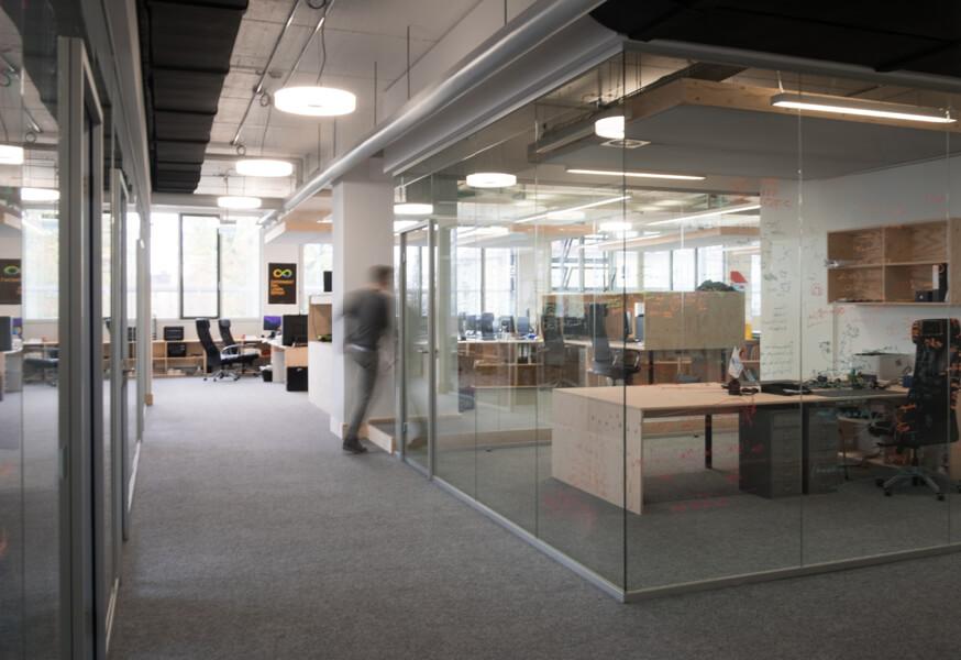 Geschlossene Büroräume Konux Design Nobla Karlsruhe