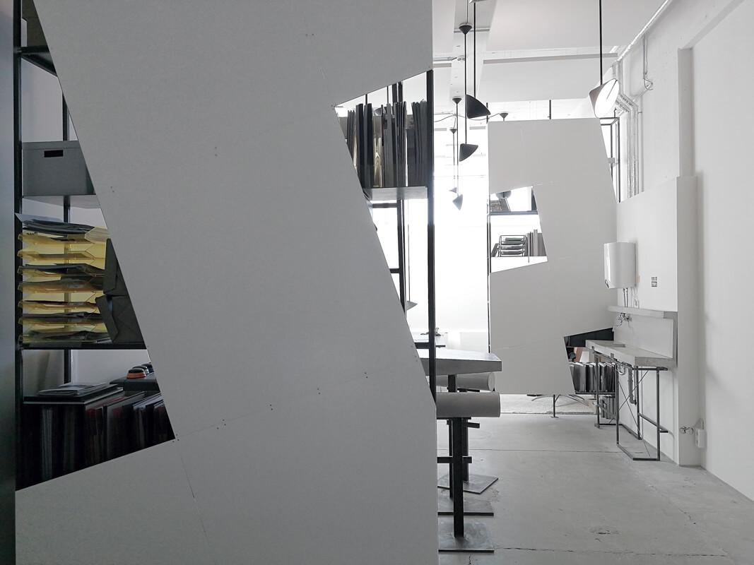 Weises Bürokonzept WhiteBox München Nobla Interior Design
