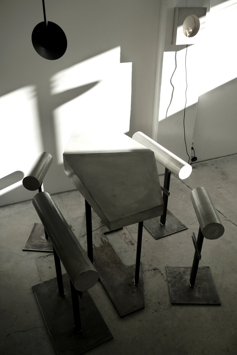 Stehbesprecher Stahlkonstrukte Raumdesign WhiteBox Nobla Karlsruhe