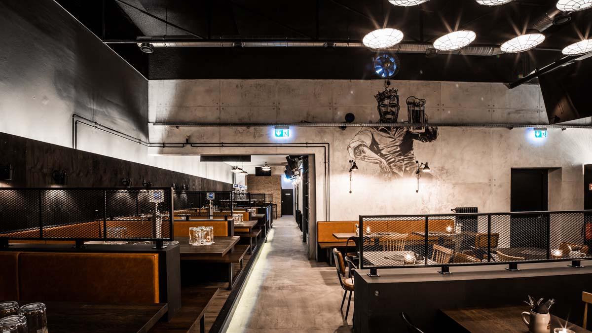 Barstube Karlsruhe Zapfkönig Nobla Innenarchitekt Gastronomie