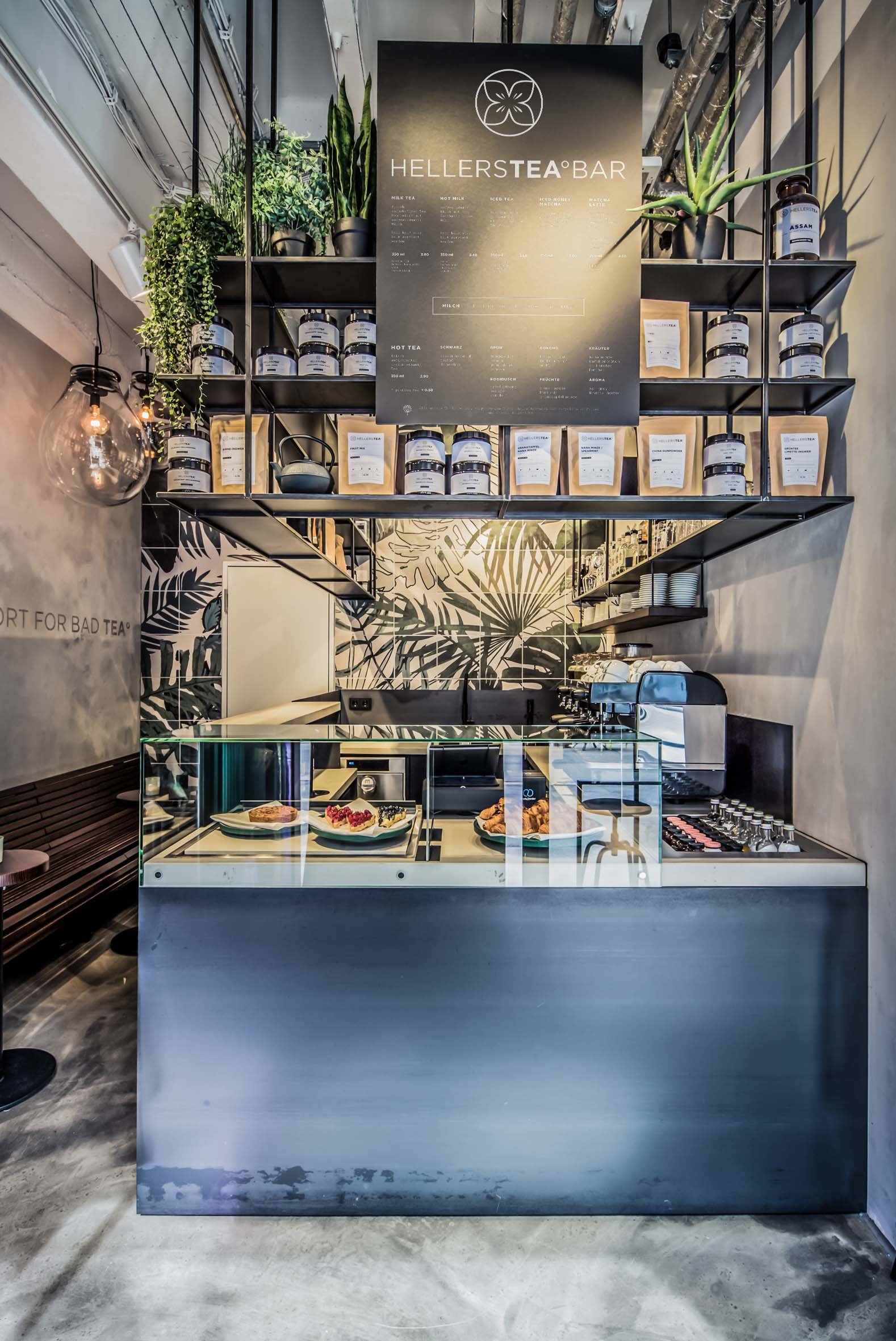 Raumdesign Inneneinrichtung Hellers Tea Bar Nobla Raumgestaltung Karlsruhe
