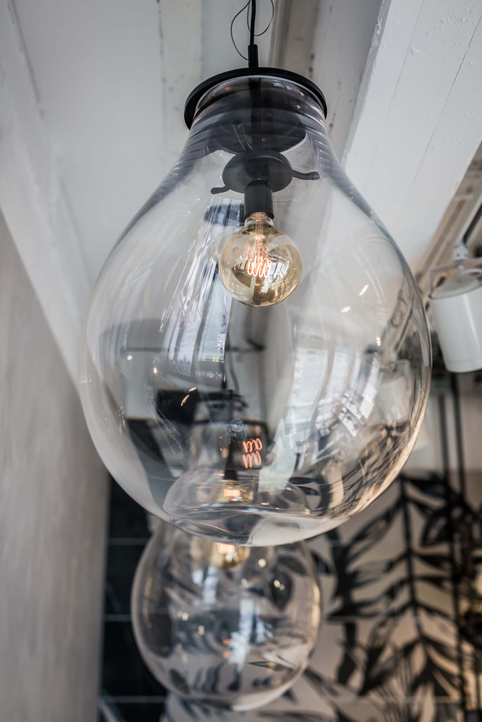 Lightning Bulb Dekoration Hellers Tea Bar Nobla Innenarchitekt