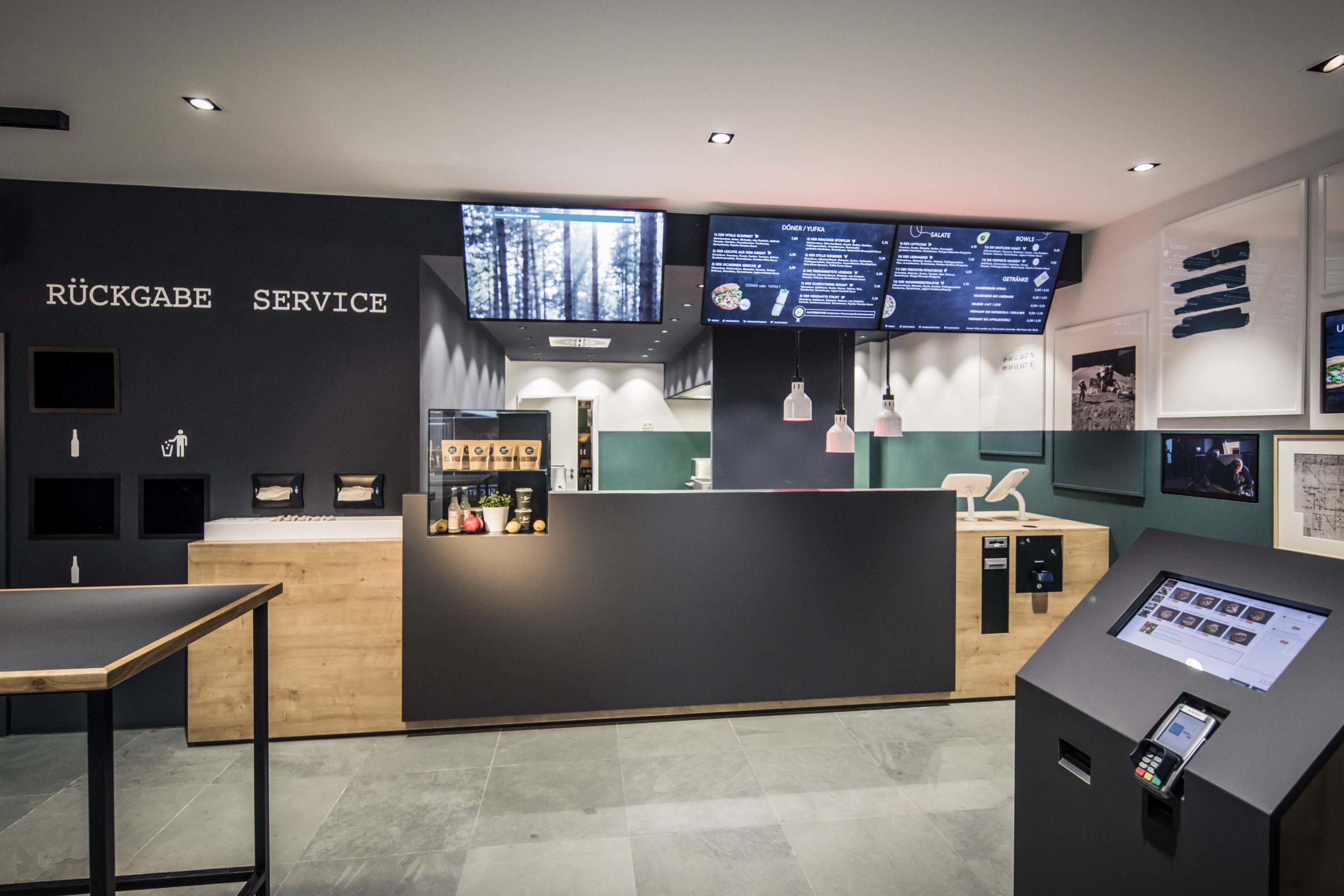Annahmetheke Bestellautomat Service Neue Dönastie