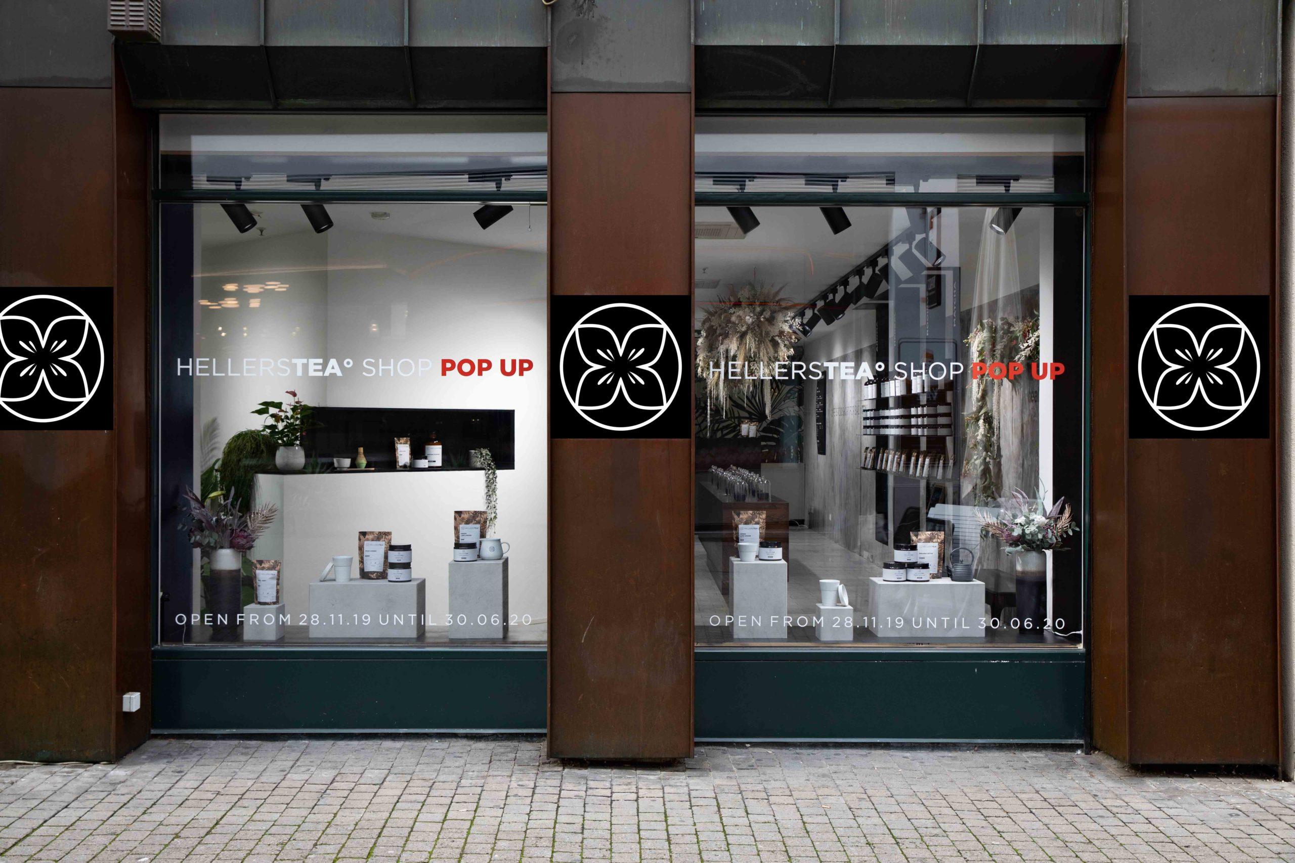 Hellers Tea Shop Pop Up Nobla Innengestaltung Innenarchitektur