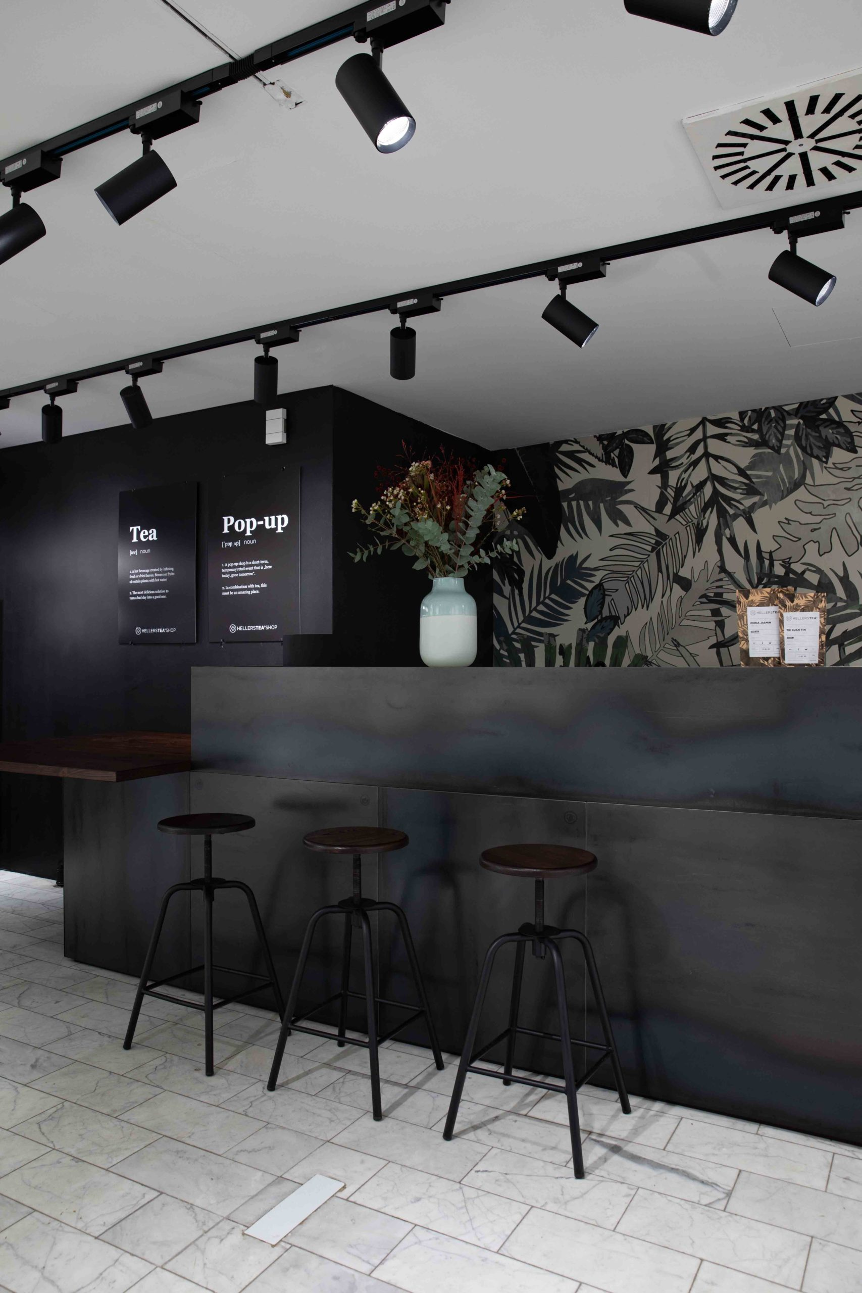 Sitzgelegenheit Hellers Tea Shop Nobla Karlsruhe