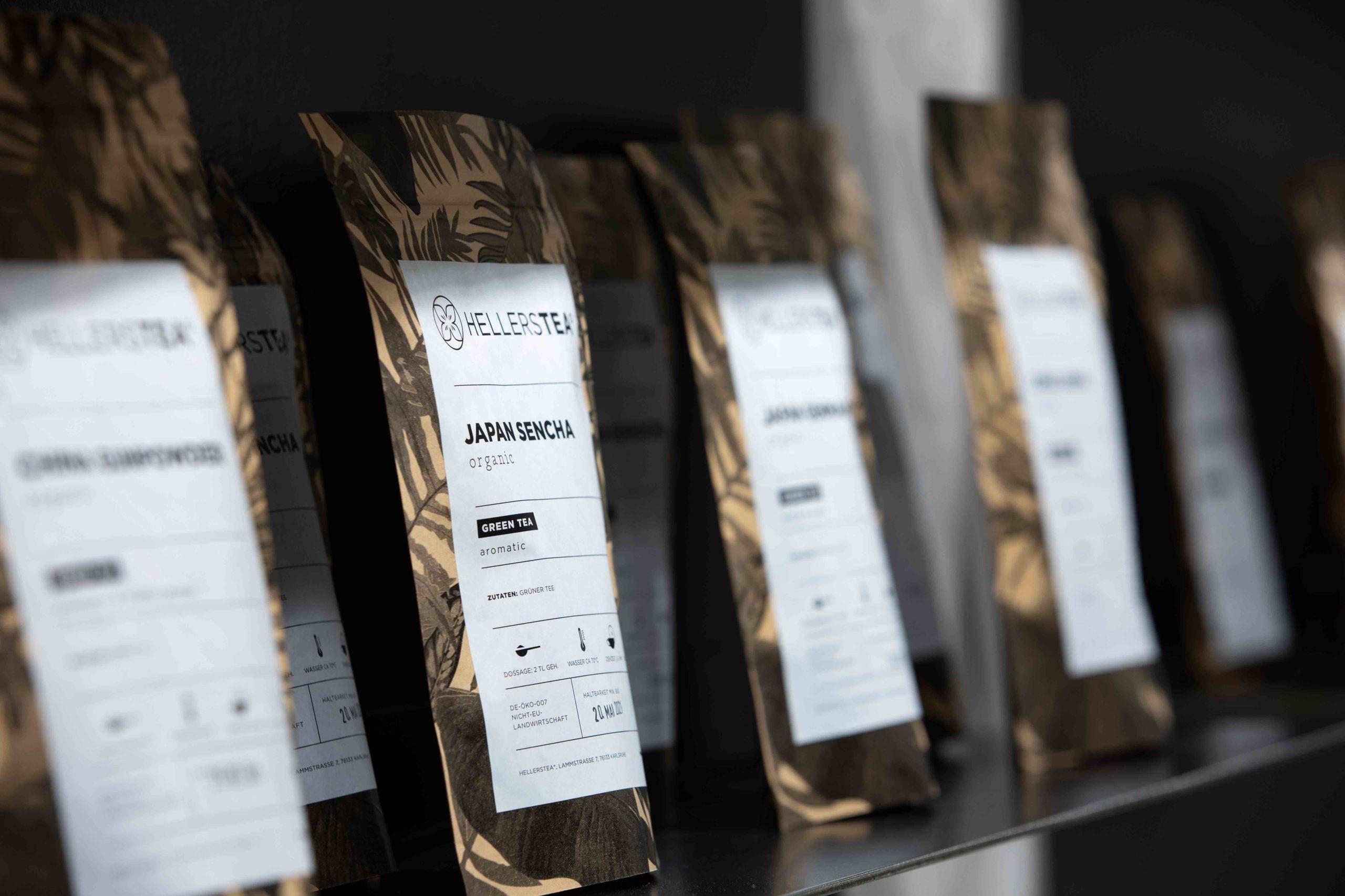 Hellers Tea Shop Green Tea Nobla Raumgestaltung
