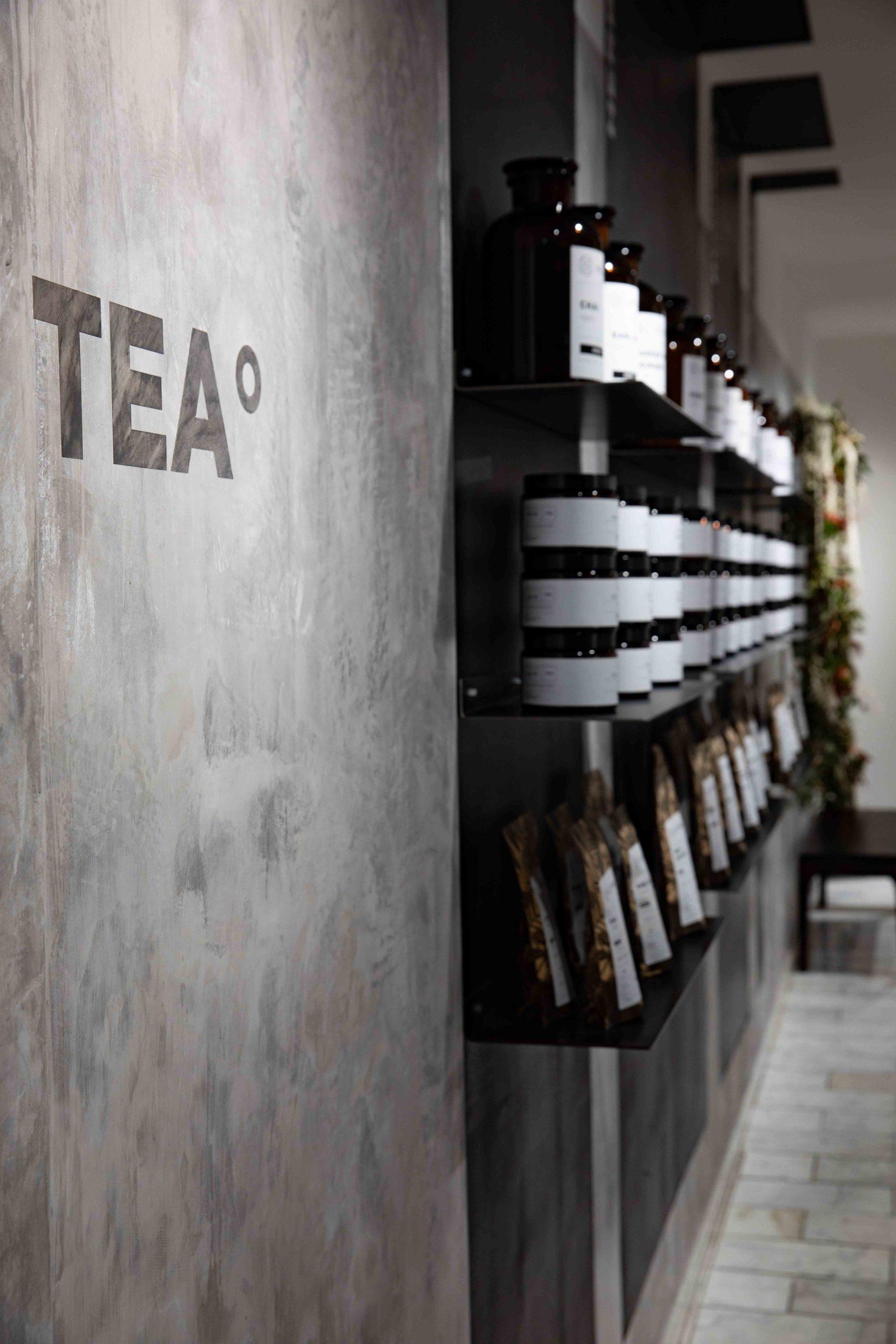 Hellers Tea Shop Teeregale Nobla Innenarchitektur