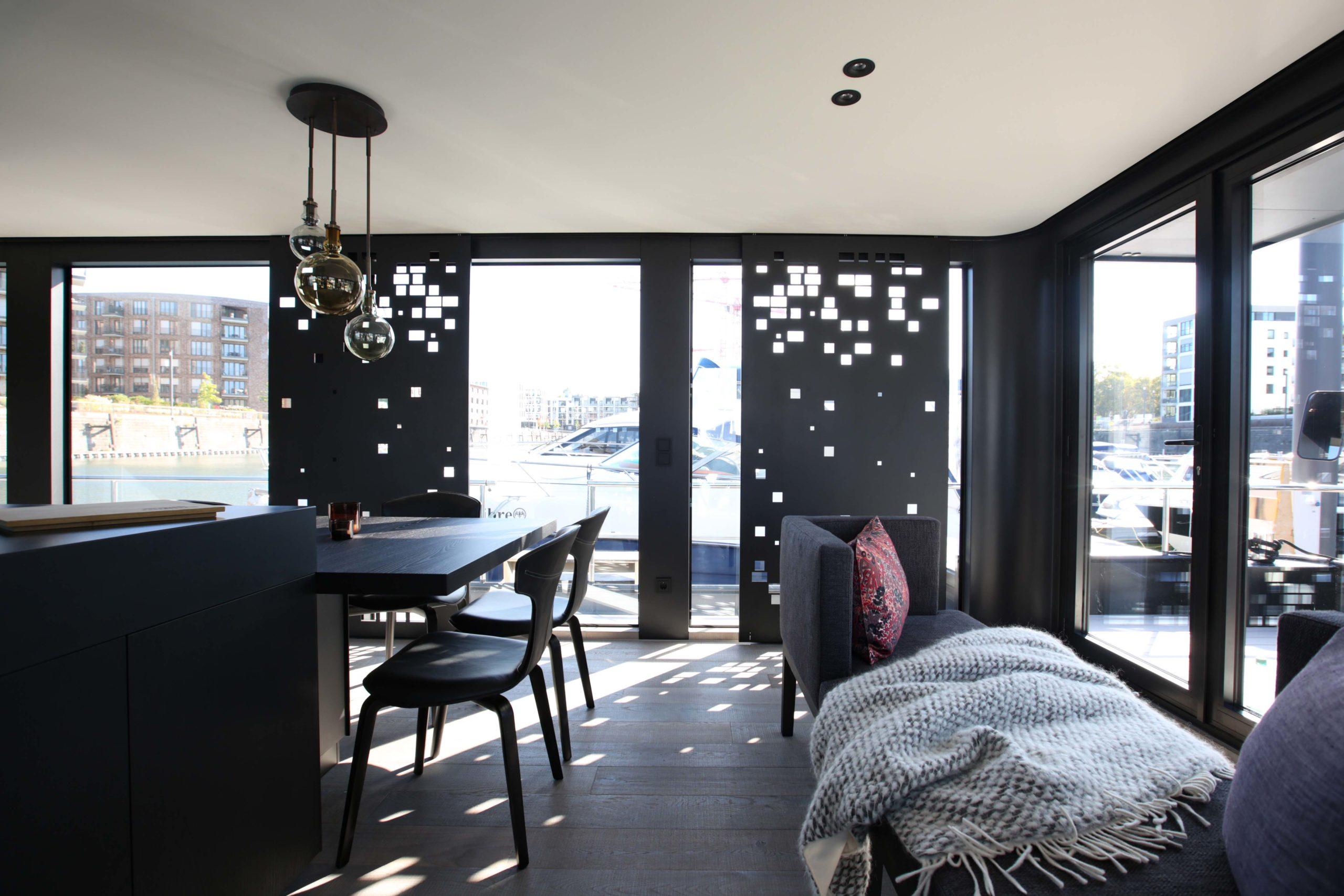 Innenausstattung Onyx Hausboot Nobla Karlsruhe Innenarchitekt