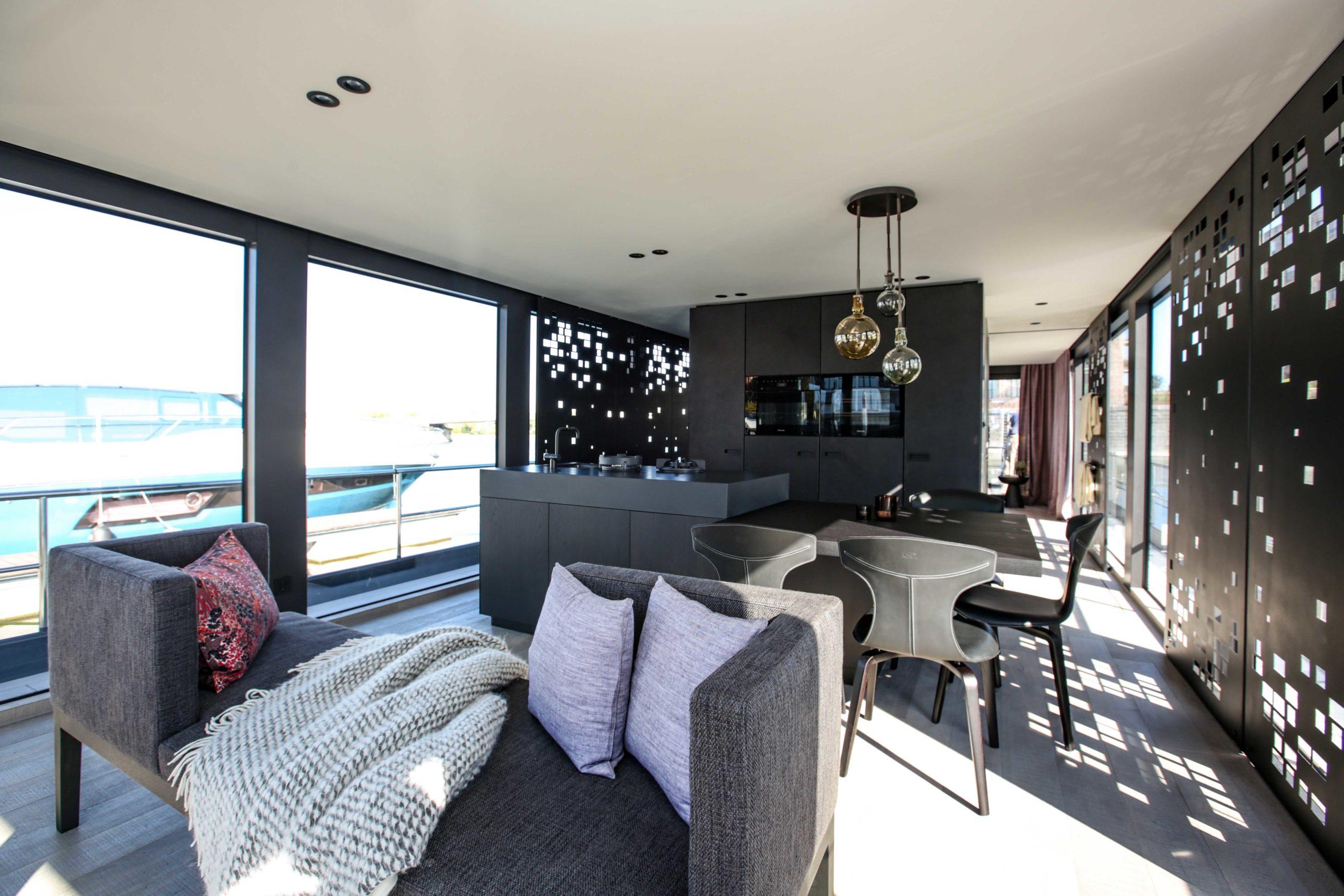 Couch In Zwei Richtungen Wohnbereich Onyx Hasuboot Nobla Innenarchitekt
