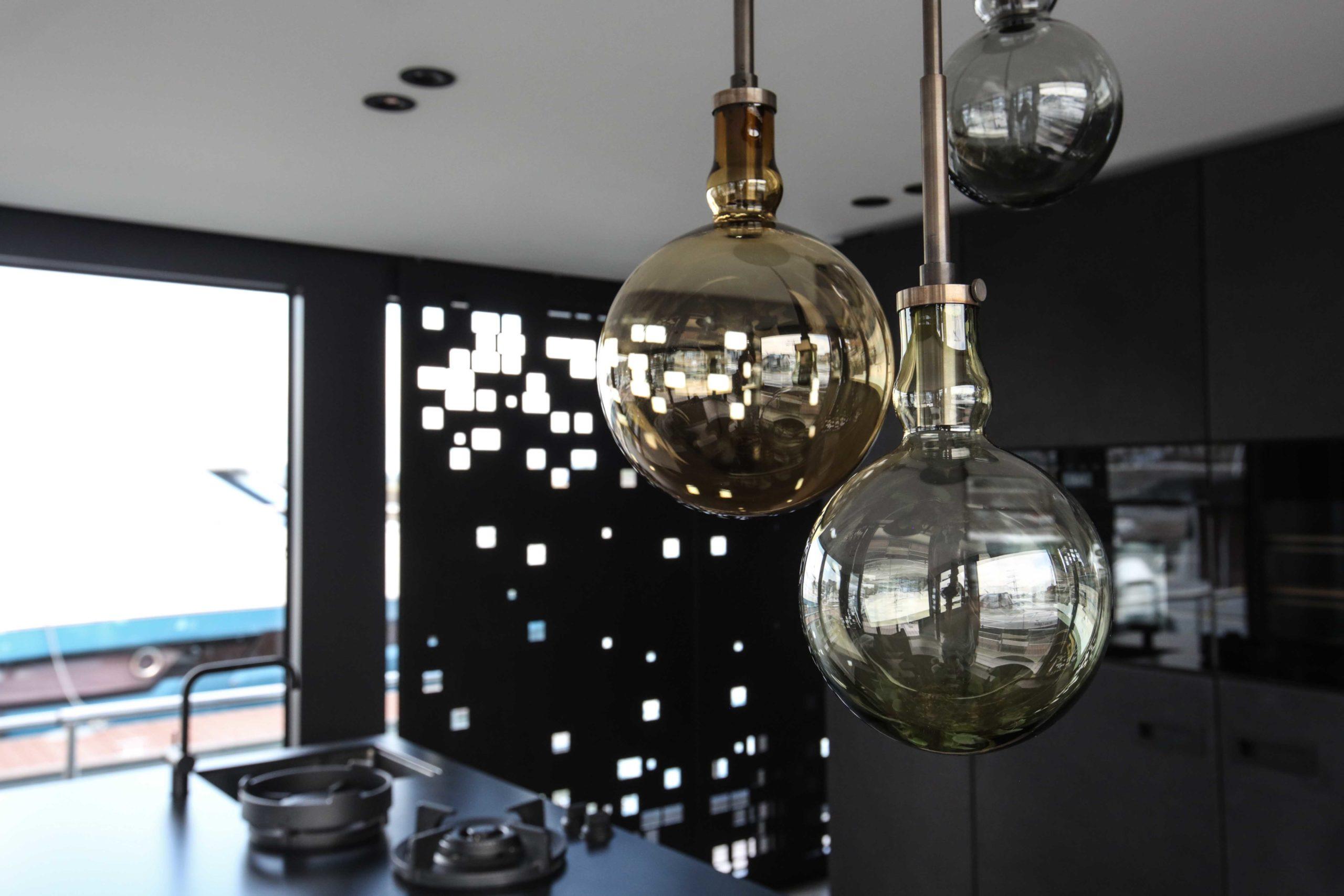 Wohnen Hängeleuchten Onyx Penthouse NoBLå – Innenarchitektur + Raumdesign für & aus Karlsruhe