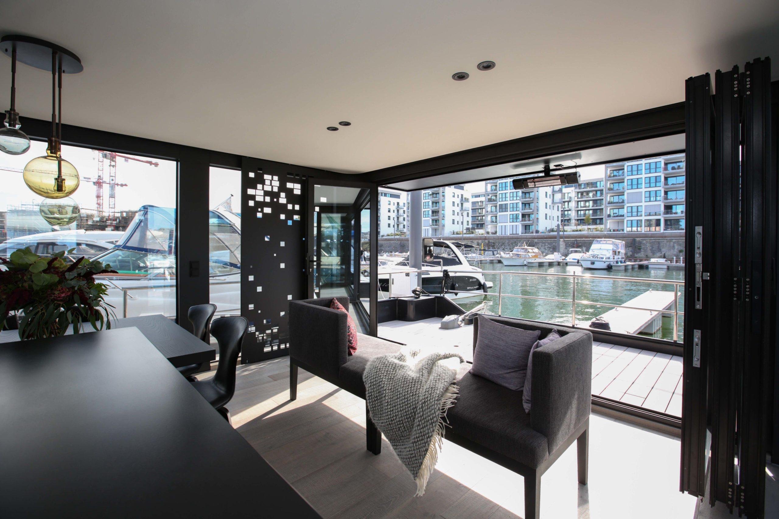 Innendesign Hausboot Onyx Cruising Home Nobla Kalrsuhe