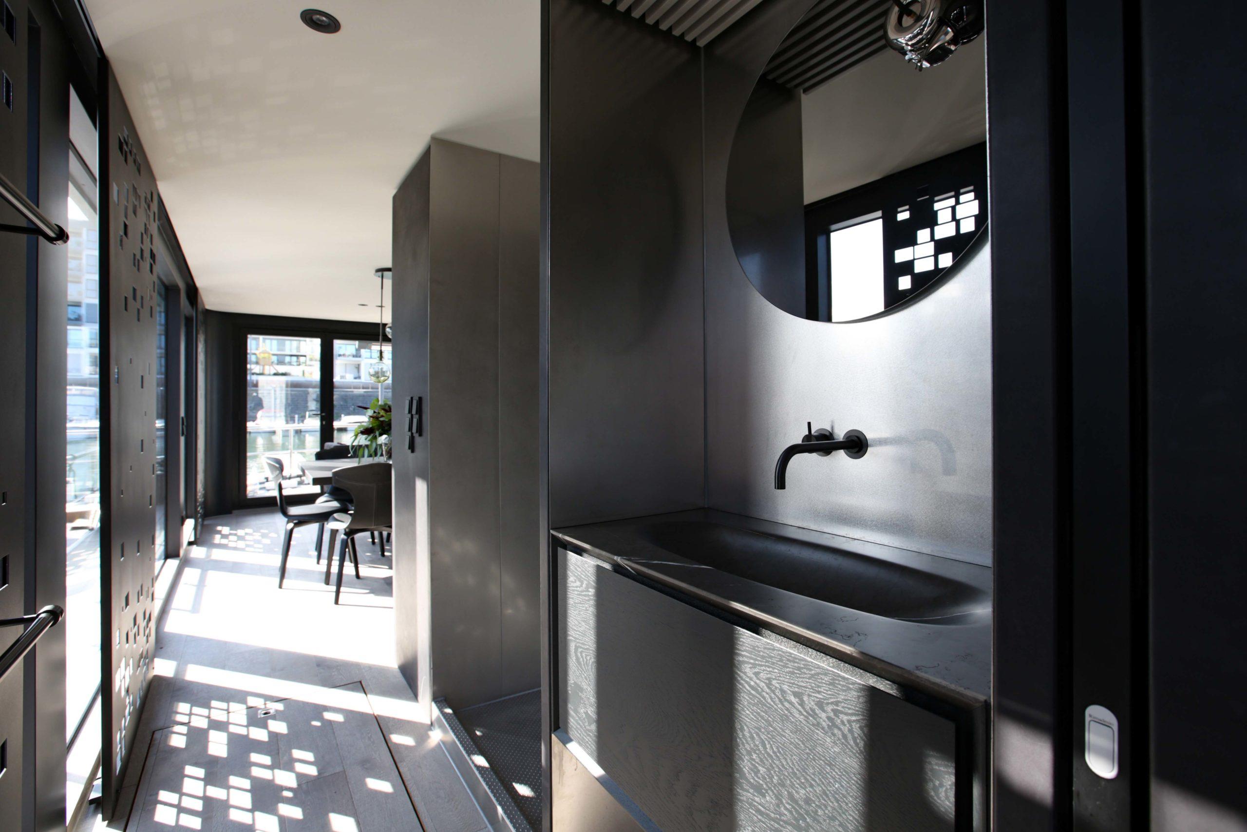 Waschbecken Dusche Onyx Hausboot Badezimmereinrichtung Nobla Design