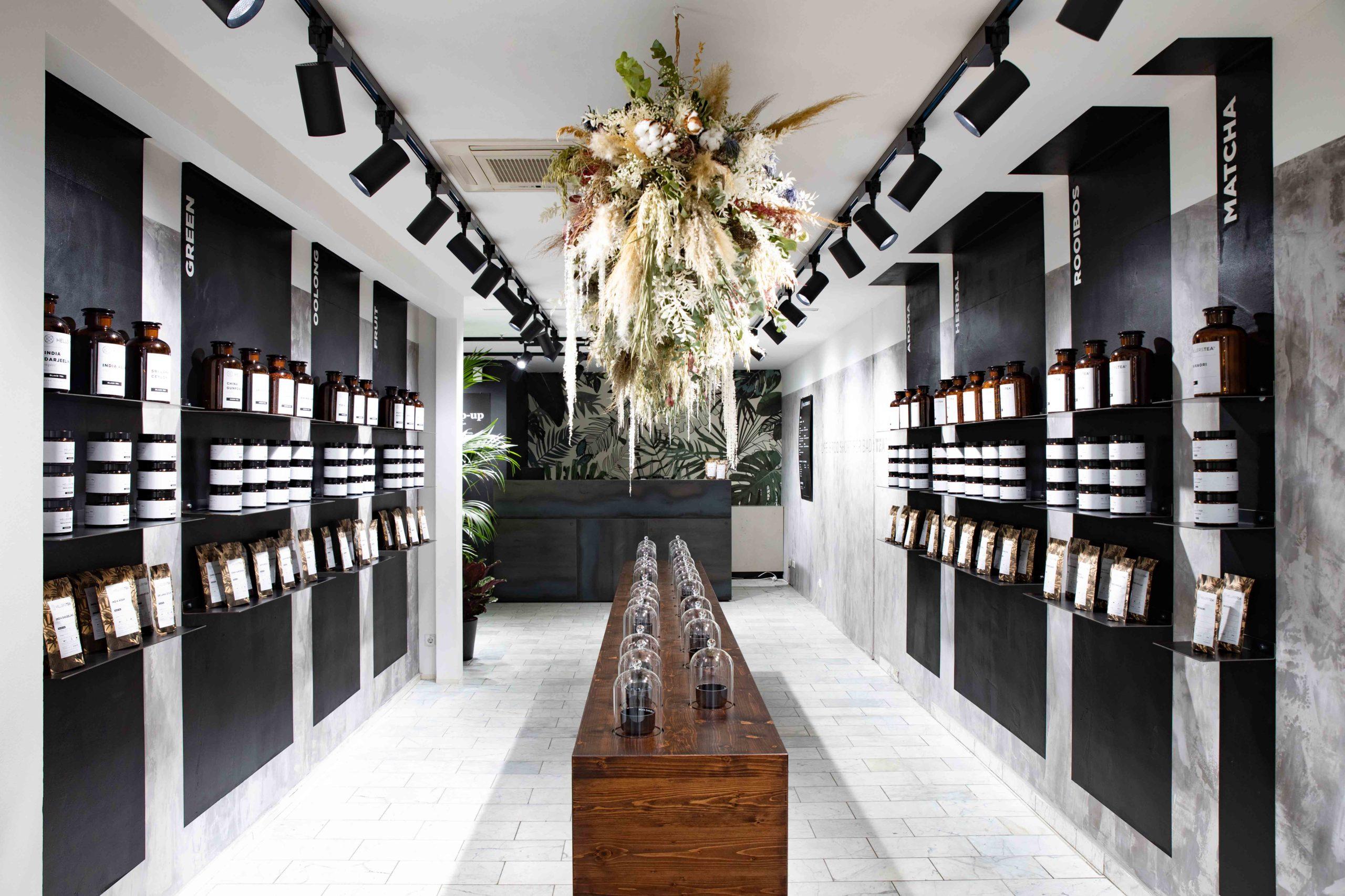 Raumgestaltung Hellers Tea Shop Nobla Innenarchitekt Karlsruhe