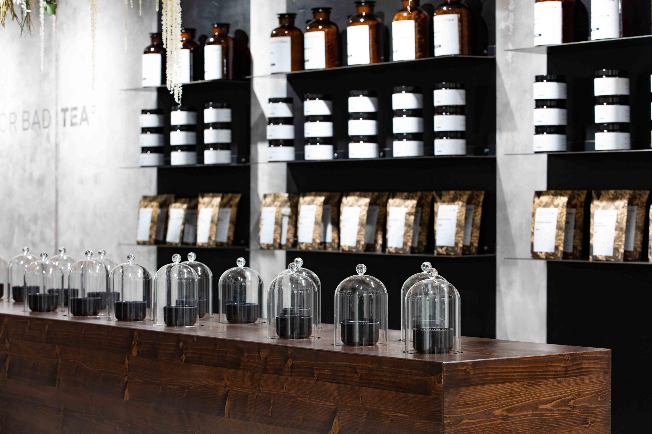 Teesorten Tee-Tasting Hellers Tea Shop Nobla Karlsruhe