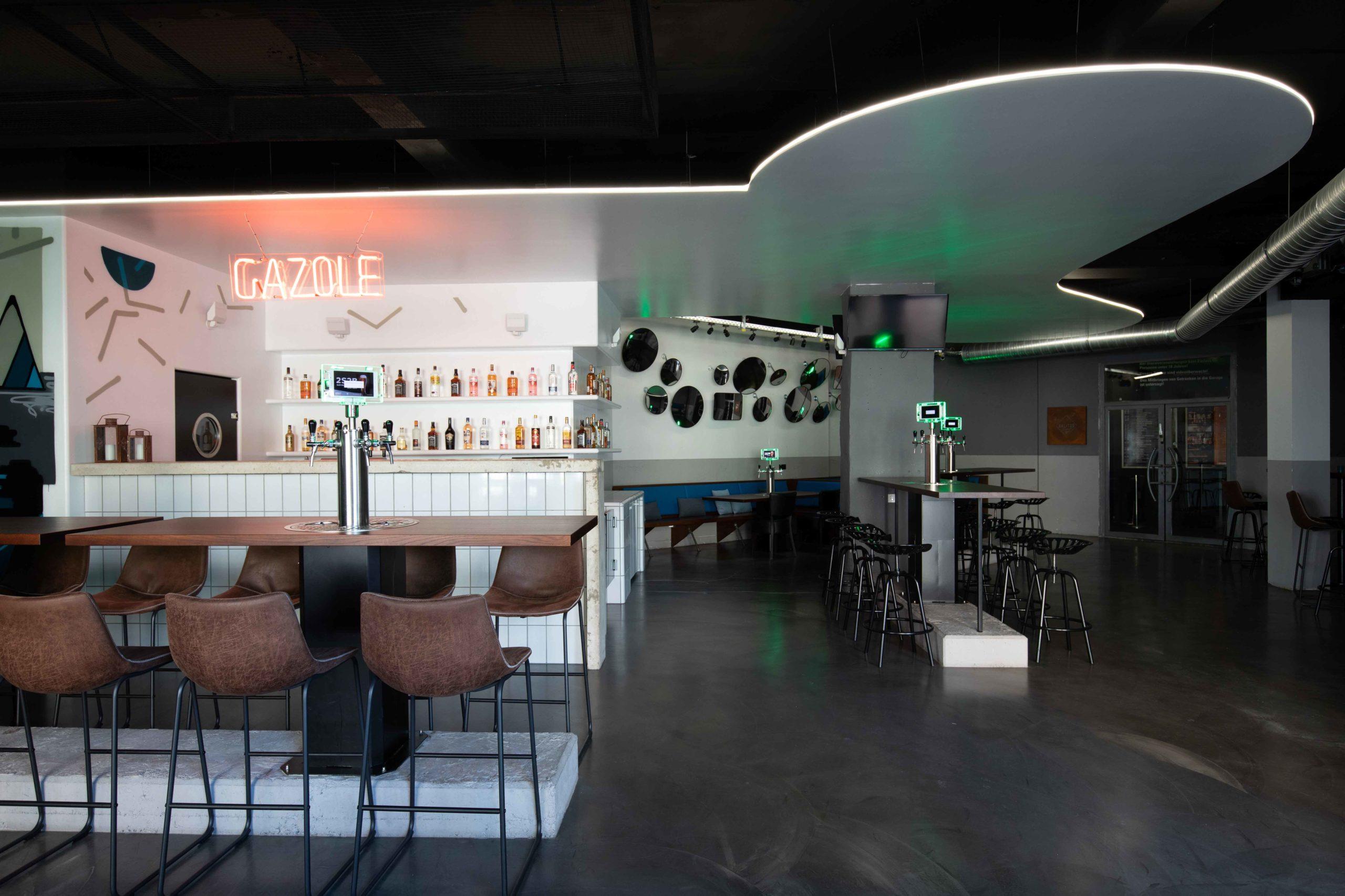 Bardesign Restauranteinblick Gazole Inneneinrichtung Nobla