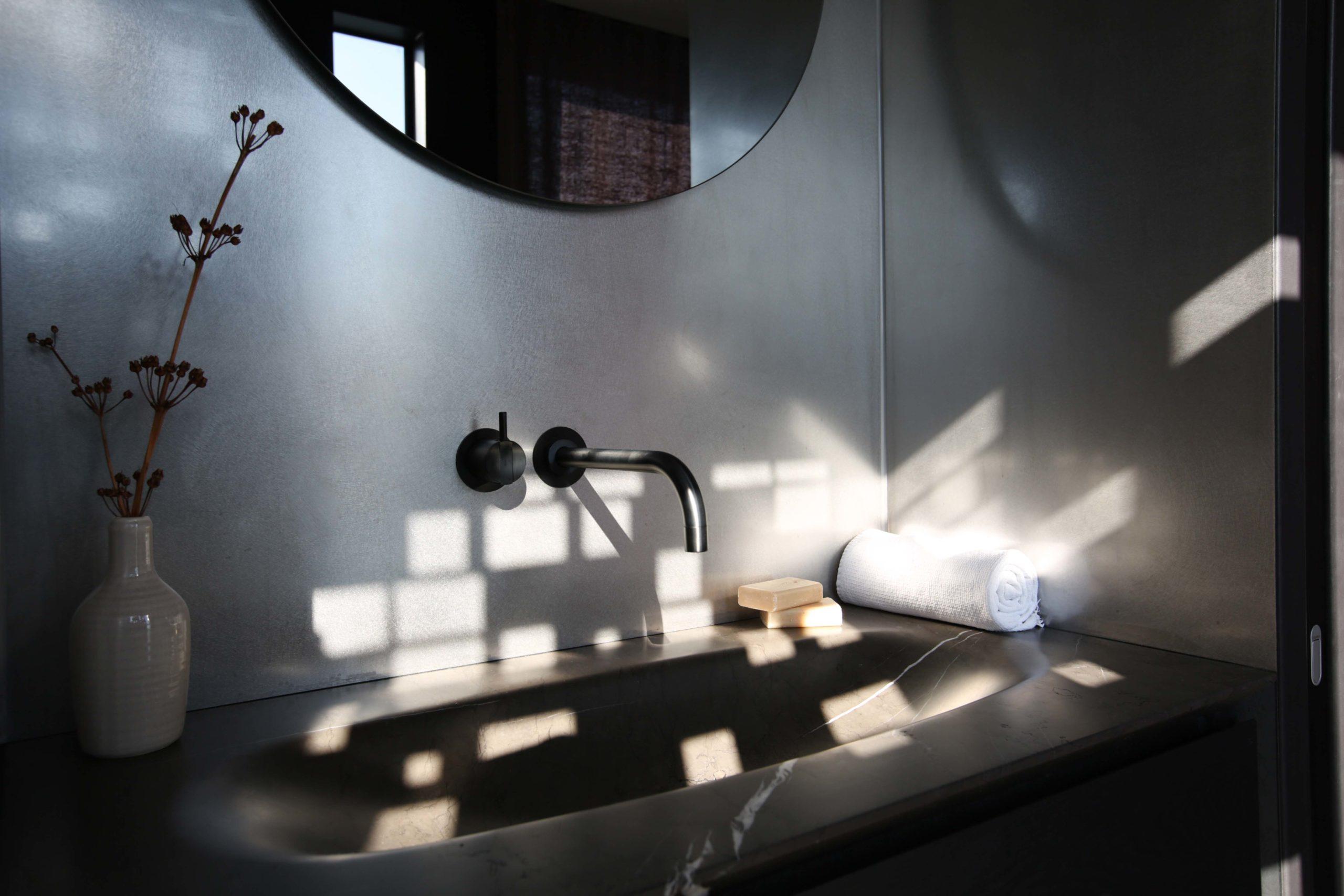 Onyx Hausboot Badezimmer Waschbecken Nobla Karlsruhe Design