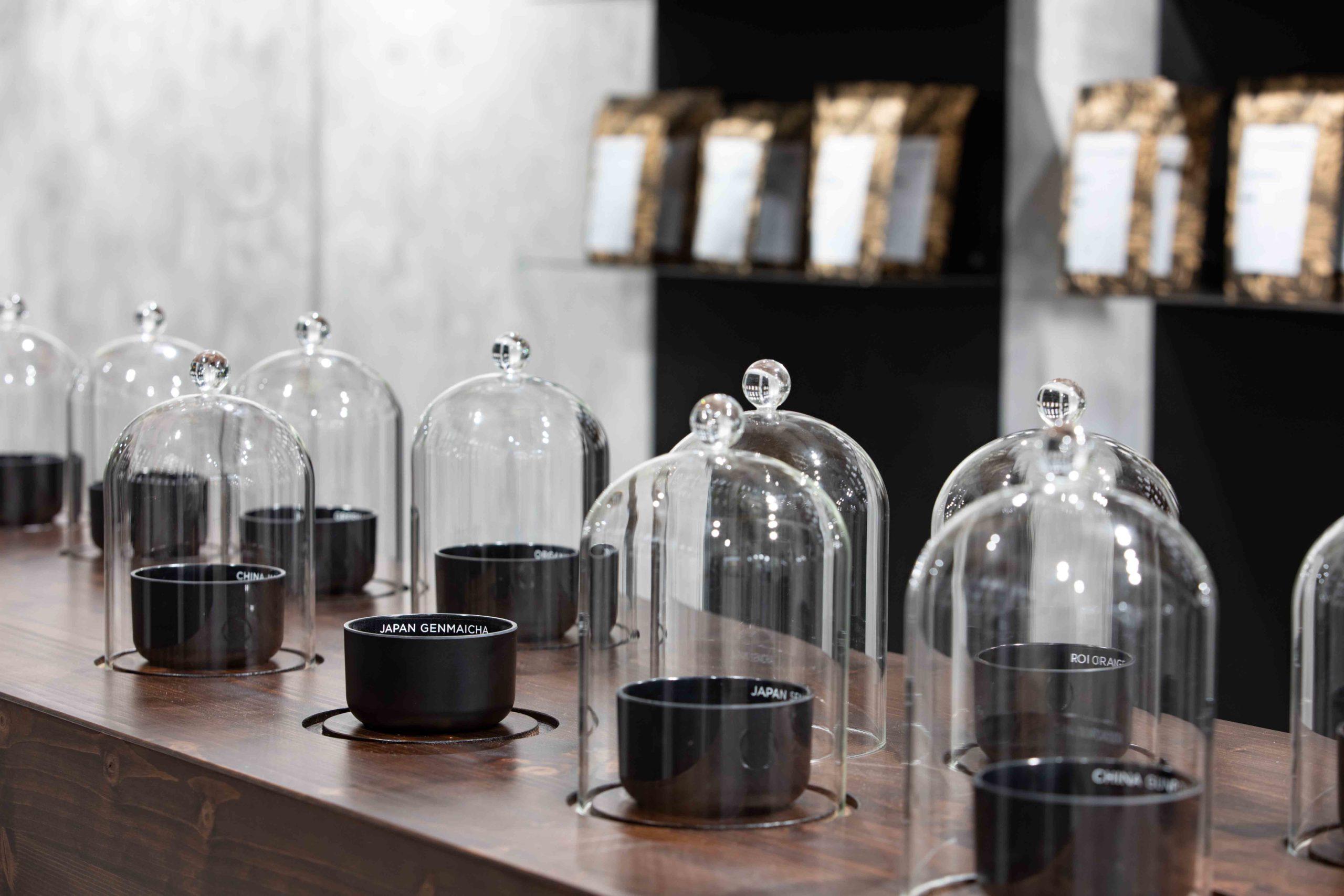 Teeprobe Hellers Tea Shop Nobla Karlsruhe