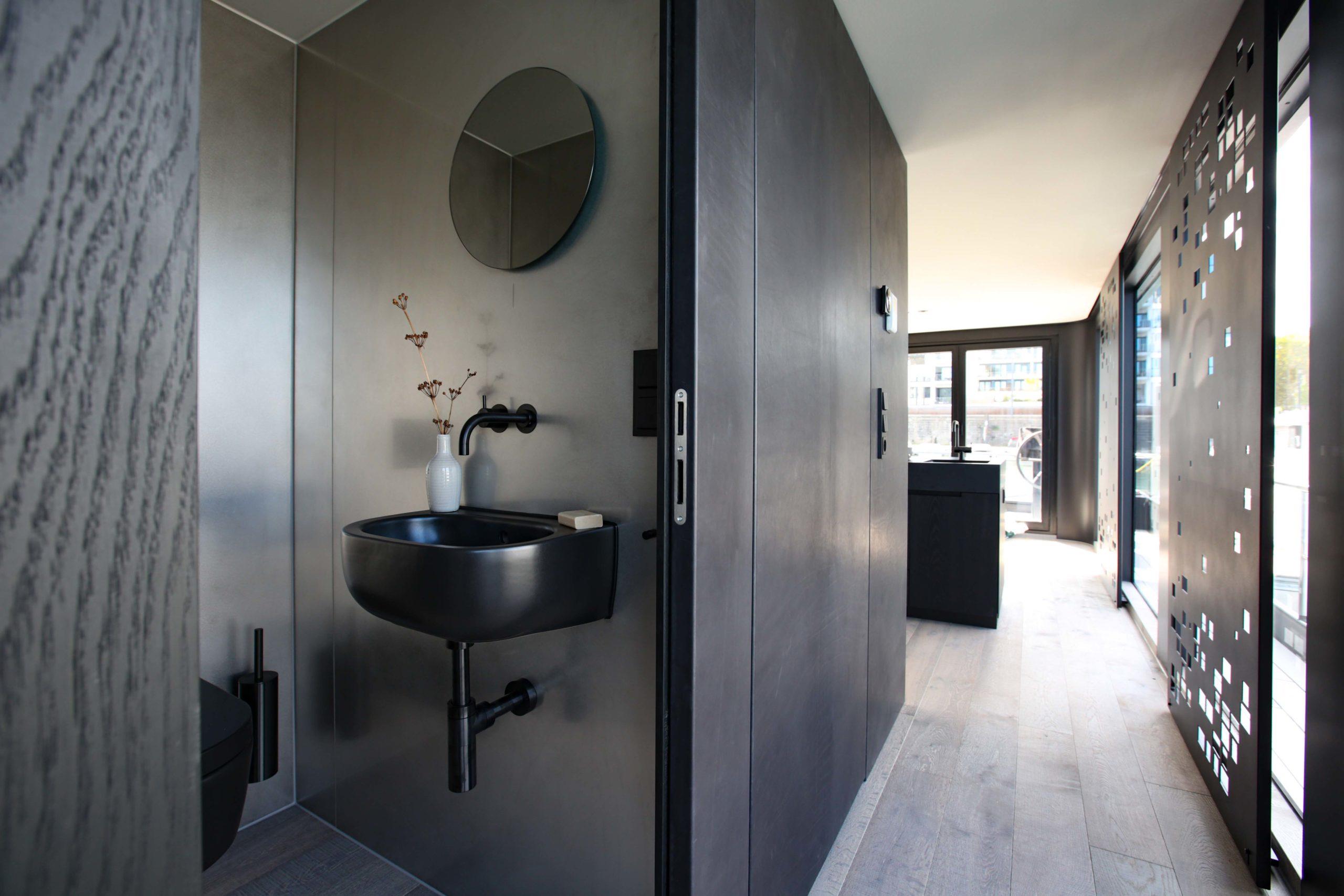 Onyx WC Penthouse Nobla Karlsruhe Innenarchitekt