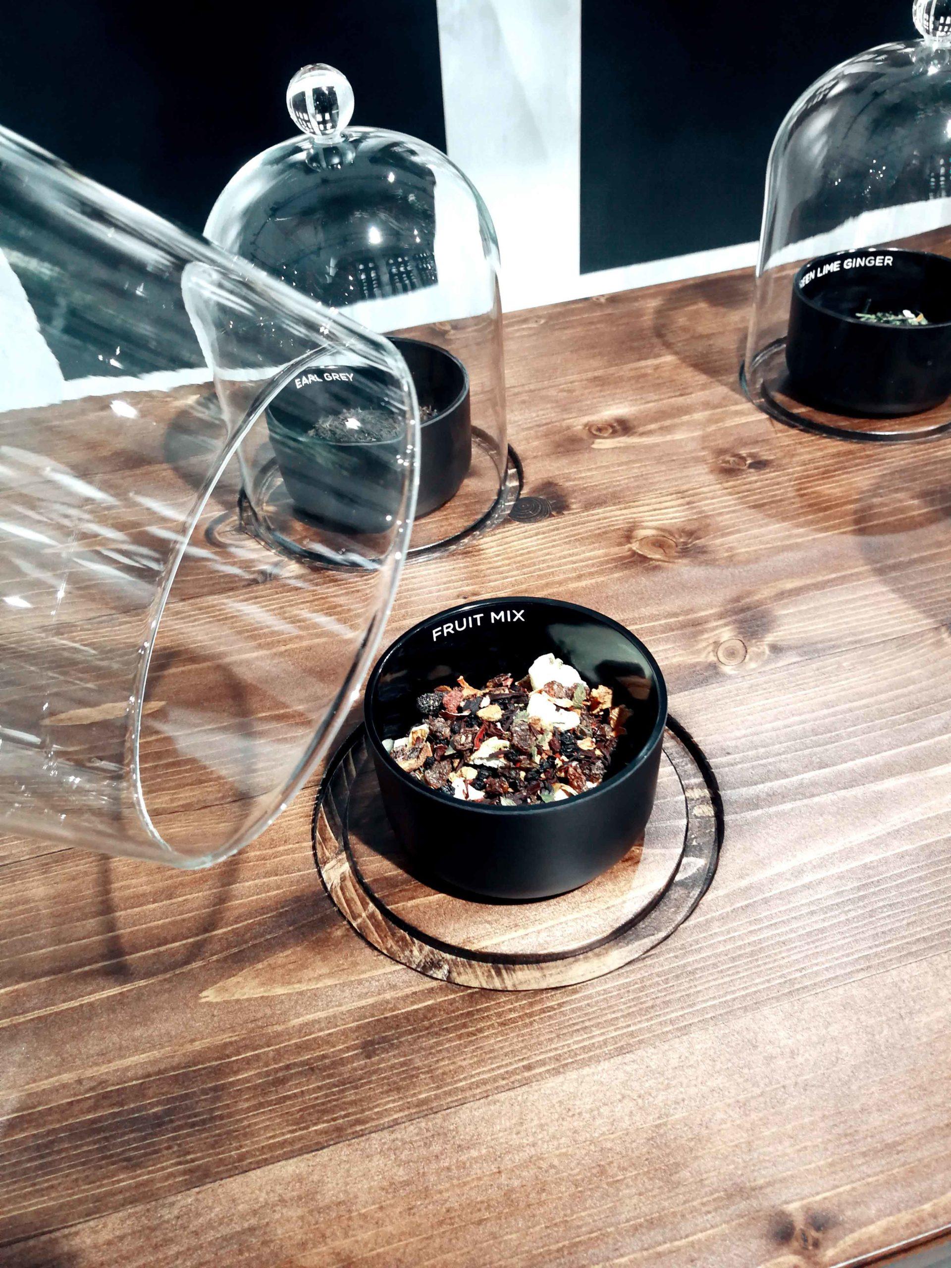 Tee-Tasting Hellers Tea Shop Nobla Karlsruhe